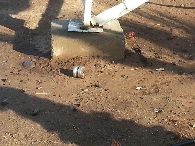 daños en cisterna de diesel en campo (1)