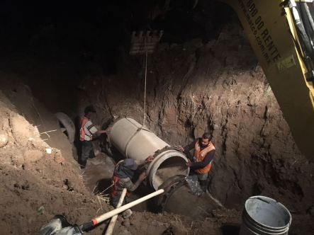 Reparación tubería de 30 pulgadas Cerro Colorado (2)