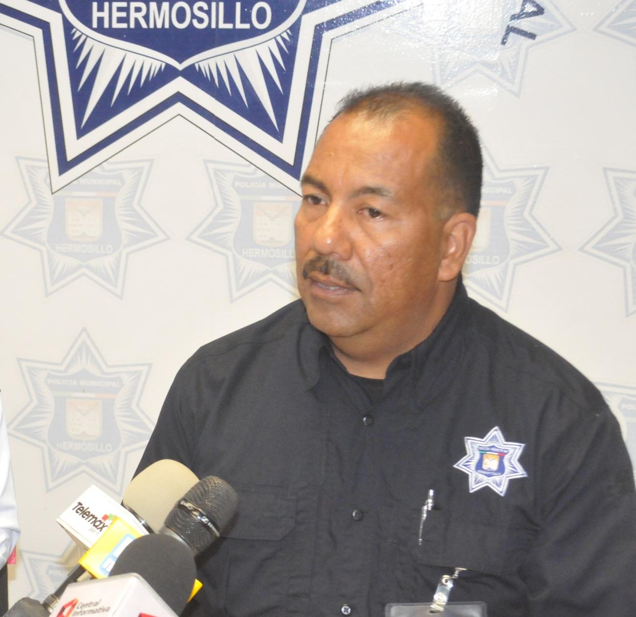 Gerardo Jiménez, director de la Policía Preventiva
